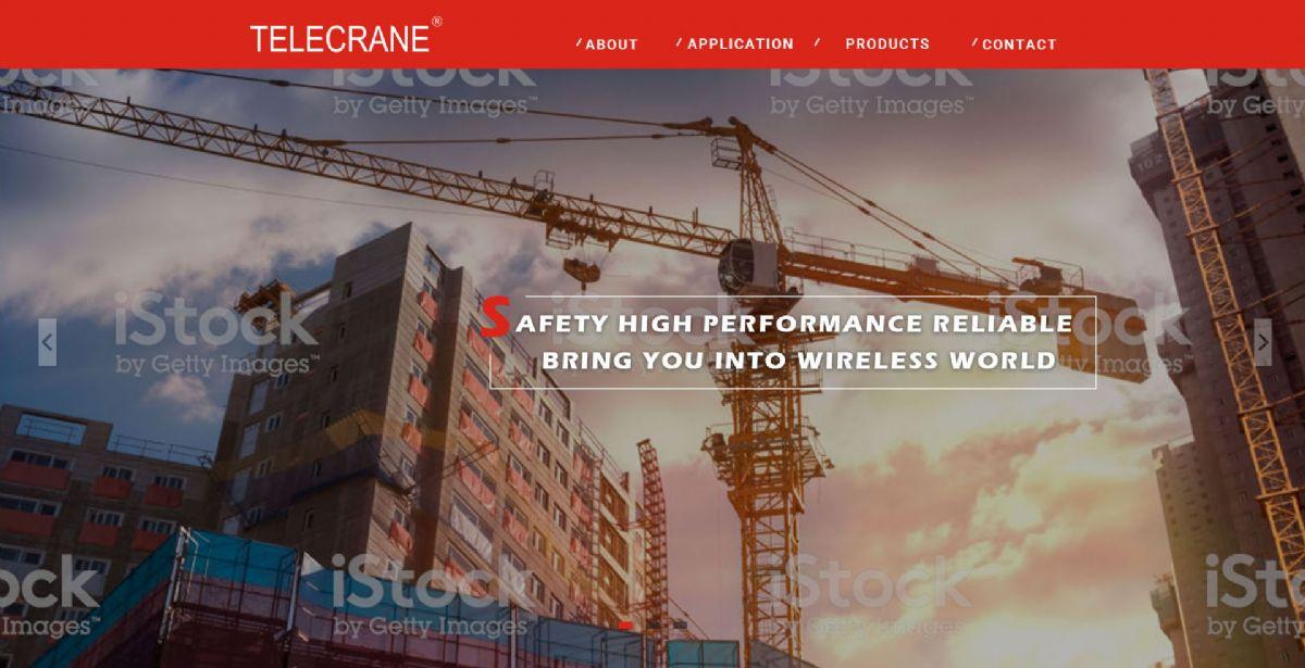 Telecrane RWD 形象網站 - 正式上線